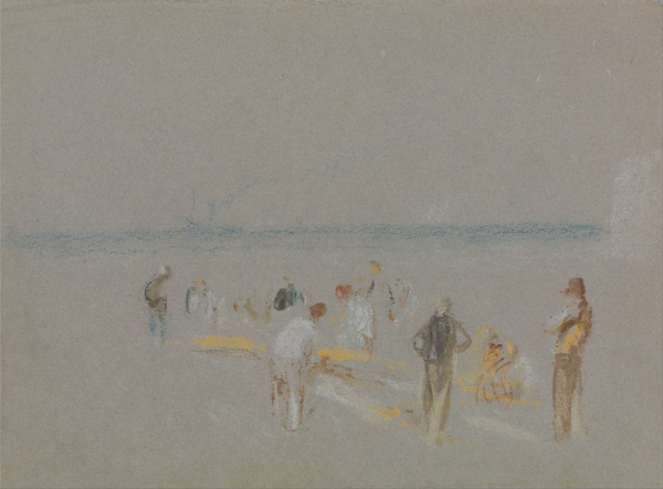 Cricket on the Goodwin Sands, undated, by Joseph Mallord Willam Turner (1775-1851) Photo credit: Wikimedia Commons